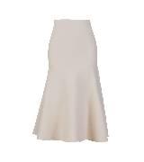 Celine2013冬季系列奶白色束身裙
