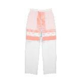 赛琳(Celine)2013春夏粉色系网格条纹长裤
