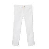 Louis Vuitton 2013早春Cruise系列白色修身长裤