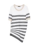 Louis Vuitton 2013早春Cruise系列白色短袖T恤