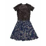 Trussardi女士拼接材质连衣裙