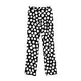 赛琳(Celine)2013春夏黑底白色波点长裤