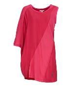 DKNY JEANS桃红色棉质连衣裙