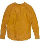 Hugo Boss黄色内搭上衣