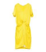 Carven纯黄色休闲连衣裙