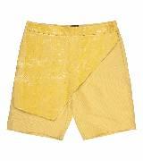 Trussardi女士黄色拼皮短裤
