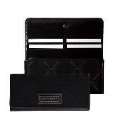 Longchamp珑骧LM布艺版黑色卡片夹