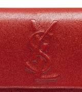 圣罗兰YSL红色手拿包