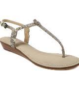 DKNY灰色蛇纹平底鞋