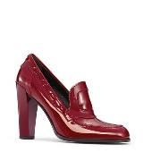 Roger vivier红色漆皮高跟鞋