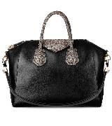 Givenchy黑色皮革手袋