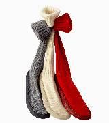 Hermes羊绒与鹿皮搭配的便鞋