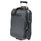 Longchamp珑骧黑色皮革旅行箱