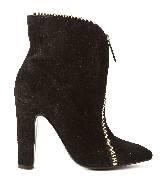 Jean Paul Gaultier高缇耶2013秋冬系列黑色短靴