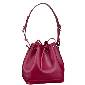 Louis Vuitton玫红色皮革单肩包