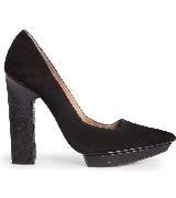 MANGO芒果黑色高跟鞋