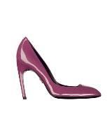 Roger vivier紫色漆皮高跟鞋