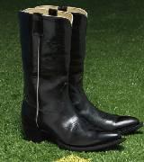 普拉达Prada皮质长靴