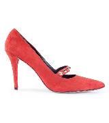 Pierre Balmain皮埃尔·巴尔曼红色高跟鞋