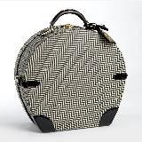 Ralph Lauren圆形格纹手提箱