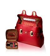 兰姿 (Lancel) 2012 L' Angèle by Lancel系列 红色双搭扣手提包