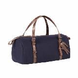 LACOSTE法国鳄鱼蓝色羊毛手提包