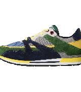 Moschino彩色拼接运动鞋款一