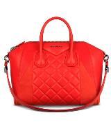 Givenchy2013早春系列ANTIGONA红色羊皮中号包