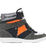 Michael Kors2013秋季系列橘色拼接运动靴