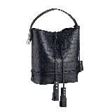 Louis Vuitton路易威登2014春夏系列黑色裂纹手拎包
