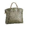 Louis Vuitton路易威登2013秋冬橄榄绿蟒蛇纹手提包