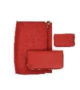 Loewe罗意威红色手拿包组合
