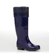 Salvatore Ferragamo藏蓝色雨靴