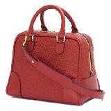 Loewe罗意威Amazona 75石榴红色牛皮手袋