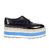 普拉达Prada厚底鞋(蓝)