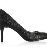 Michael Kors纹理皮革高跟鞋