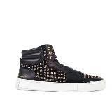 圣罗兰YSL黑色牛皮运动鞋