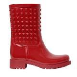 Valentino橡胶镶钉雨靴