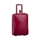 Louis Vuitton玫红色皮革旅行箱