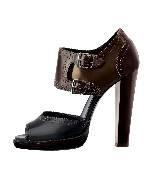 爱马仕Hermes高跟露趾鞋