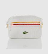 LACOSTE法国鳄鱼彩色条纹盥洗包