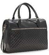 MANGO黑色手提包