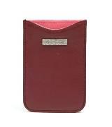 Marc Jacobs酒红色皮革Iphone套
