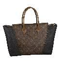 Louis Vuitton路易威登2013秋冬W系列Monogram图案拼接手提包