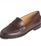 拉夫·劳伦Ralph Lauren深棕色皮鞋