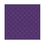 Longchamp珑骧LM复刻版紫色丝巾