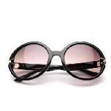MANGO黑色圆框墨镜
