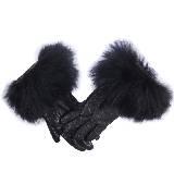 Max Mara黑色手套