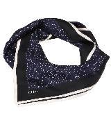 Chloe蔻依2013年冬季系列蓝色星点围巾
