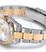 劳力士(Rolex)女装日志型31 178343 白盘镶钻腕表